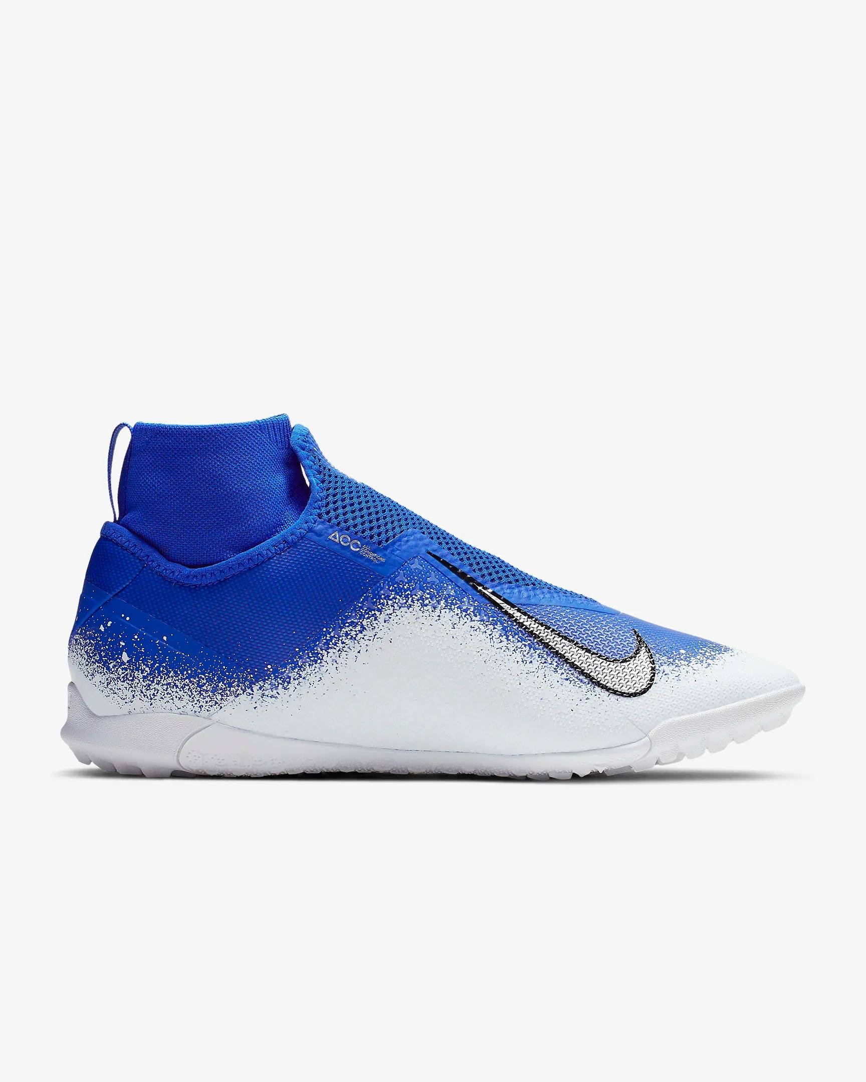 Футбольные шиповки Nike React Phantom Vsn Pro DF TF AO3277-410 SR (фото 2)